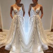 wedding dresses with pockets discount bohemia wedding dresses with pockets spaghetti