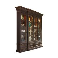 Break Front Cabinet Furniture Display Cabinets Habersham Home