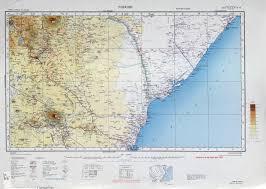 Kenya Africa Map by Kenya Colony