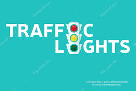 traffic light background with place for your text semaphore