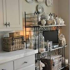 Bakers Racks With Drawers Wooden Antique Baker Racks With Drawers And Wine Shelves Baker