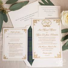 thermography wedding invitations thermography archives april designs custom stationery