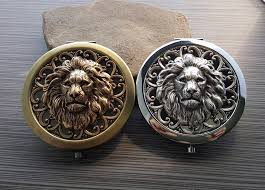 urban lion ring holder images Compact mirrors urban metal designs jpg