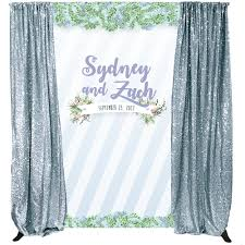 Succulent Kits by Custom Printed Wedding Backdrops Backdrop Express