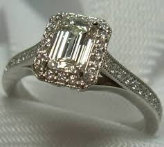 vintage emerald cut engagement rings antique emerald cut engagement rings antique gale diamonds chicago