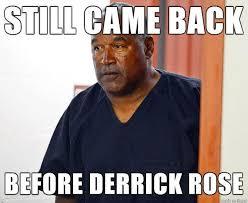 Oj Meme - nba meme team on twitter oj simpson wins parole so i guess this