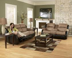 impressive living room sofa and loveseat sets tobacco finish