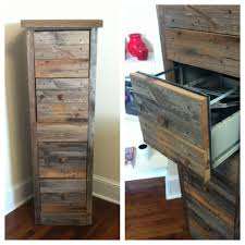 Diy Desk With File Cabinets by Awesome Way To Make An Old File Cabinet Looking Rustic And Amazing