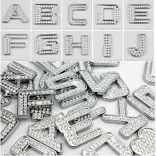rhinestone letter stickers diy car stickers car rhinestone letter stickers chrome plated