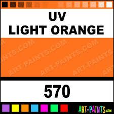uv light orange colors tattoo ink paints 570 uv light orange
