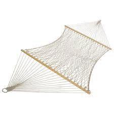 pawleys island 55 in w x 82 in l oatmeal duracord hammock