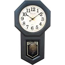 Wall Clocks by Better Homes And Gardens Schoolhouse Wall Clock Walmart Com