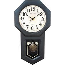 better homes and gardens schoolhouse wall clock walmart com