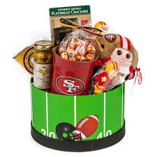 christmas gifts for 49ers fans gameday gift basket