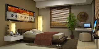 modern and minimalist bedroom decor japanese style