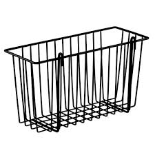 Wire Shelving Storage Metro H209b Black Storage Basket For Wire Shelving 13 3 8