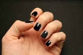 black square nails