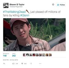 Glenn Walking Dead Meme - the walking dead premiere all the memes you need to see heavy