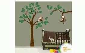 Monkey Nursery Decals Monkey Wall Decal Youtube