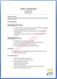 Resume Format Samples For Freshers by Sample Resume For Retired Teacher Templates