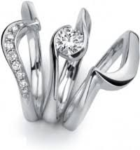 shaped wedding ring shaped wedding rings platinum shaped engagement rings the