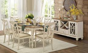 Homelegance Ohana Counter Height Dining Homelegance Azalea Dining Set Antique White 5145 Dining Set