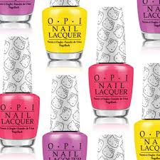 opi hello kitty nail polish collection for winter 2016 glamour
