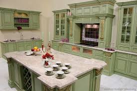 Green Painted Kitchen Cabinets Colored Kitchen Cabinets