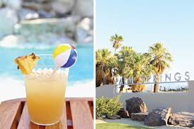 pineapple daiquiri a poolside palm springs bachelorette party