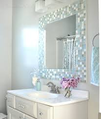 trending diy mirror projects mosaic tile bathrooms bathroom