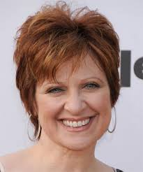 short haircuts for women over 40 with round faces hair style and