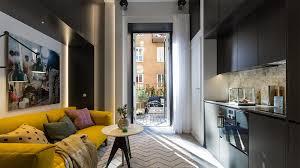 Studio Apartment Tiny Studio Apartment With Cozy Yet Elegant Ambiance Idesignarch