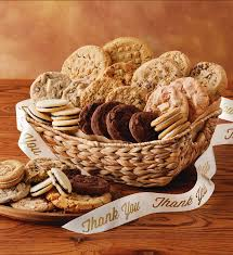 cookie gift baskets thank you cookie gift basket cookies and brownies harry david