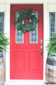 front door paint colors red brick designs images doors green front