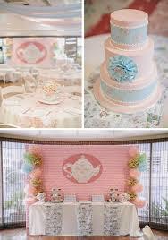 Cake Decorations For 1st Birthday Kara U0027s Party Ideas Romantic Tea Party Planning Ideas Supplies Idea