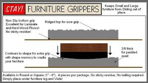 stay furniture grippers keep furniture from sliding on