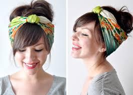 how to wear bandanas with bob hairstyles 7 stylish ways to wear a bandana hair ideas livingly