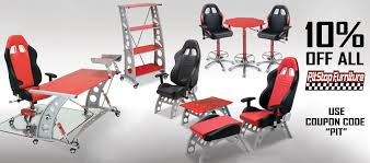 Race Car Seat Office Chair Racechairs