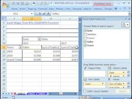 Creating A Pivot Table In Excel Excel Magic Trick 401 Quarterly Comparative Report Pivot Table