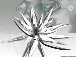 silver flowers desktop wallpapers 3d backgrounds silver flower www