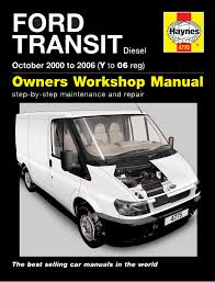 haynes workshop repair manual ford transit 00 06 4775