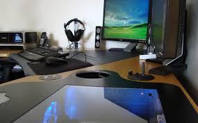 ultimate computer chair desk two man computer desk v awesome gaming computer desk setup