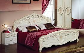 schlafzimmer aus italien schlafzimmer rozza beige creme bett 160 italien klassik barock