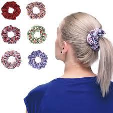 hair scrunchies aliexpress buy fairy 2017 women hair scrunchies floral