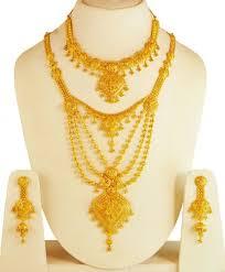 long necklace sets images 22kt gold long rani necklace set ajns61679 22kt gold necklace jpg