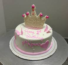 pretty princess crown birthday cake crown butterfly simple and