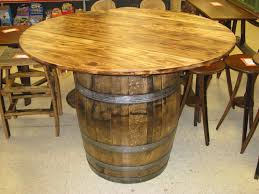 dining room barrel coffee table whiskey barrel furniture