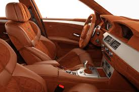 Brown Car Interior Leather And Suede Interior Specialcarinteriors Com