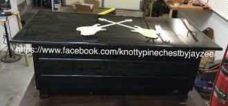 rock star coffee table with storage base knotty pine cedar chest