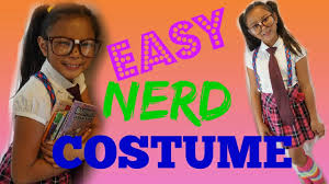 diy easy nerd halloween costume youtube